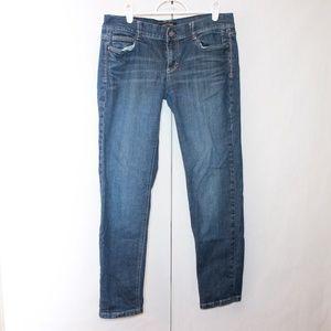 White House Black Market Women's Size 6 Noir Jeans